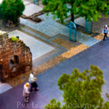 Exeter From Above, tilt shift photography cityscape street photographer herefordshire 4925