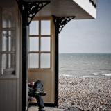 Beach Shelter, Worthing, fine art photographer urban photography herefordshire 1241