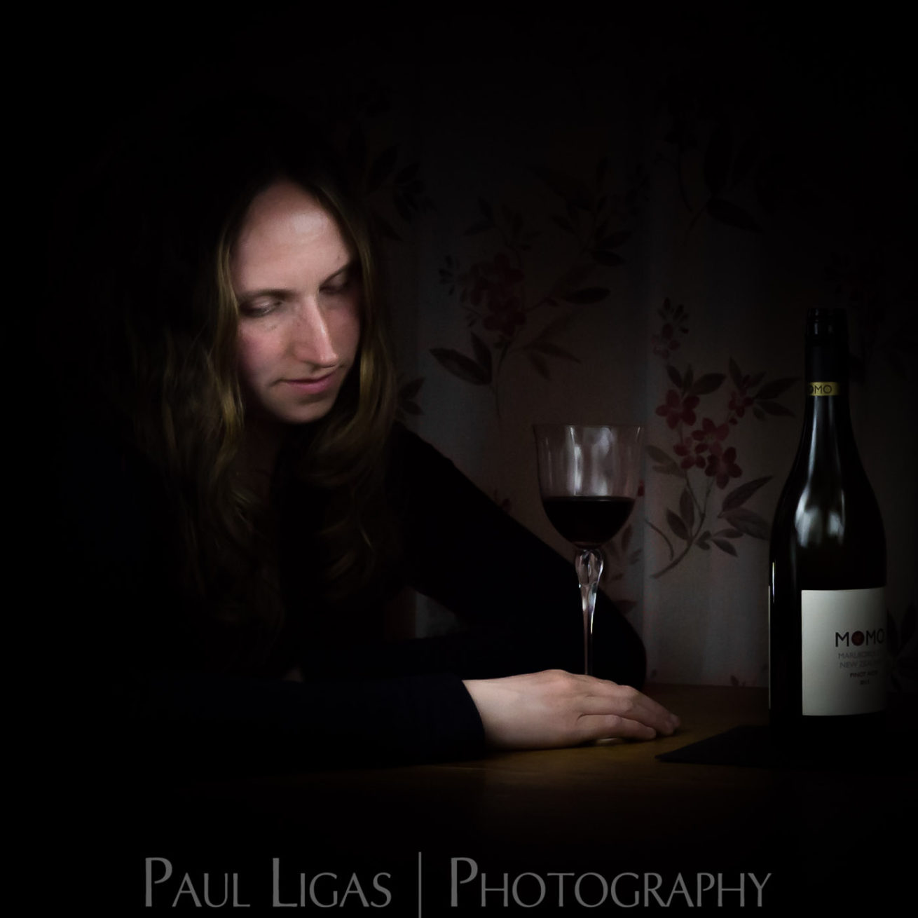 Light Painting Portrait photographer Herefordshire photography 6399