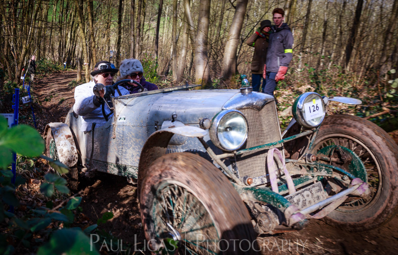 Vintage car hill climbing, Ledbury, Herefordshire event photographer photography 9315