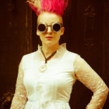 The Mysterious Freakshow band photographer photography music portrait steampunk fey pink herefordshire 4912