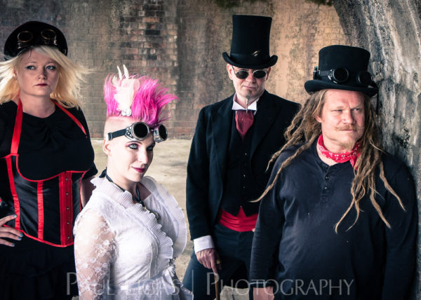 The Mysterious Freakshow band photographer photography music portrait steampunk herefordshire