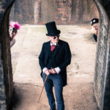 The Mysterious Freakshow band photographer photography music portrait steampunk herefordshire 4984