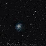Astrophotographer, Ledbury, Herefordshire, M101 Pinwheel Galaxy Deep Sky Object