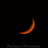 Astrophotographer, Ledbury, Herefordshire, setting Moon 5908
