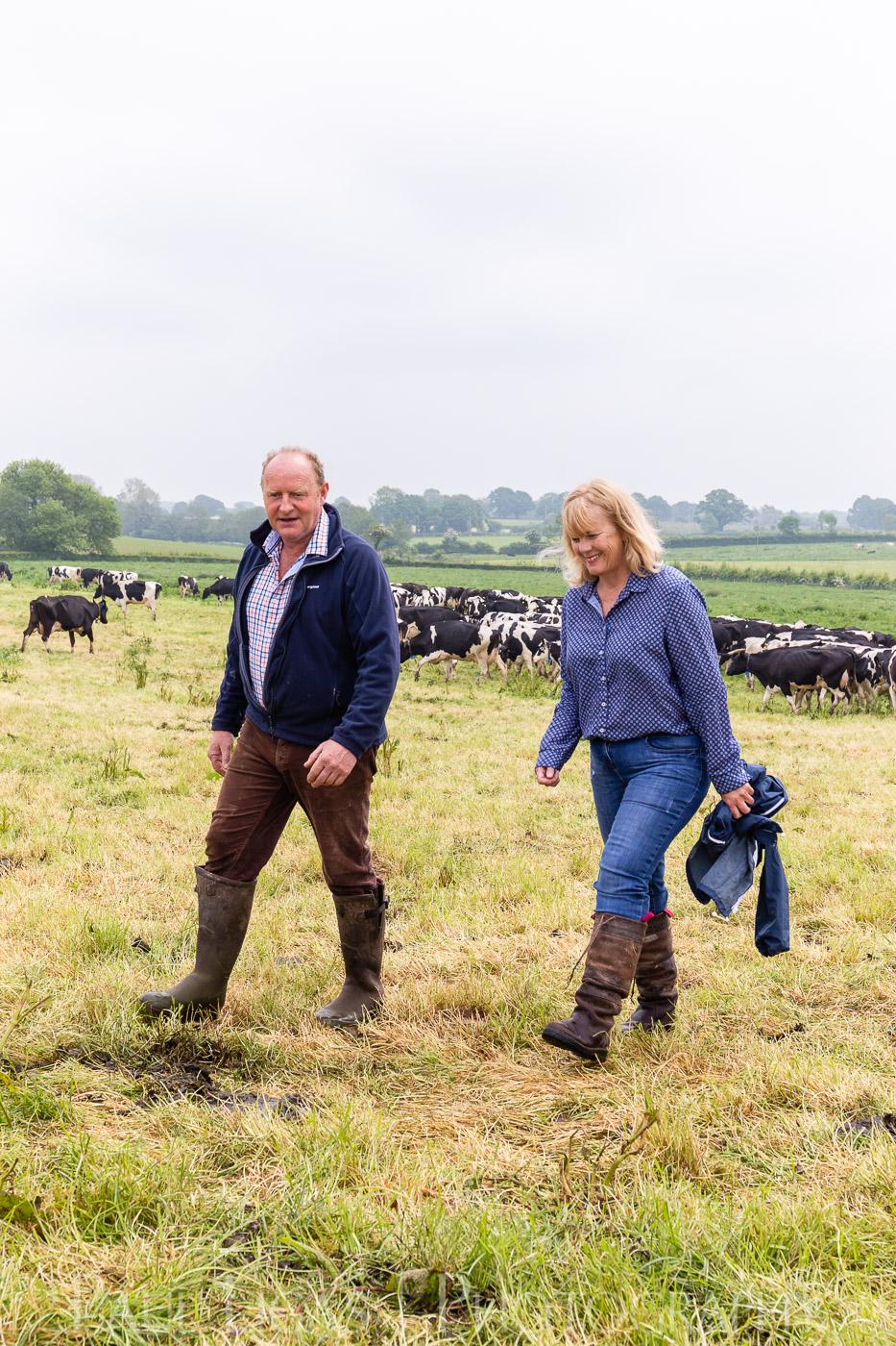 Milk Matters magazine herefordshire farming agriculture portrait photographer 6917