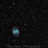 Astrophotographer Ledbury Herefordshire M27 Dumbell Nebula Deep Sky Object