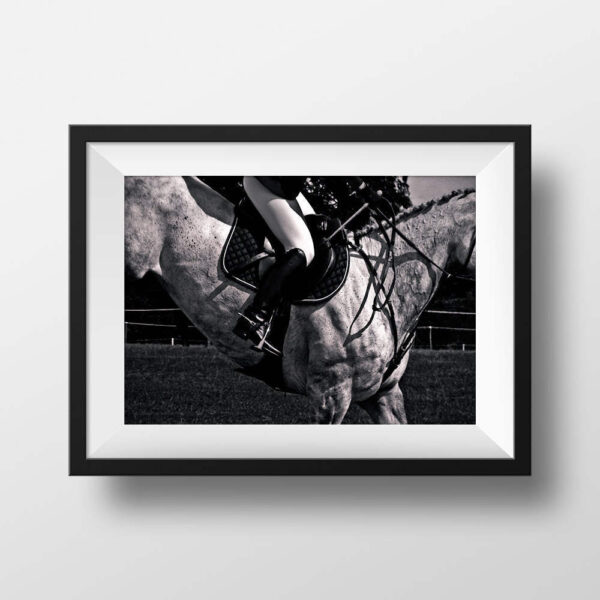 Paul Ligas Photography print Show Jumping – Horse and Rider mock up
