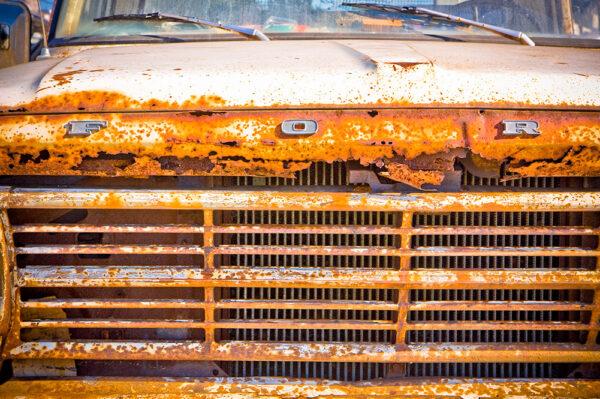 Paul Ligas Photography Print Rusty Ford Pickup