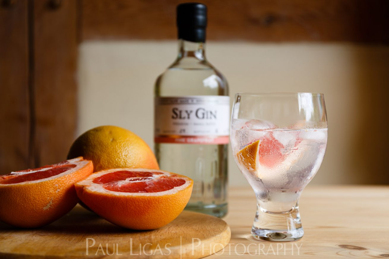 Haven Distillery Sly Gin Hereford product lifestyle photography photographer 5335